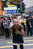 Ballo sulla strada Fotografia Stock Libera da Diritti