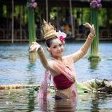 Ballo tailandese Immagini Stock