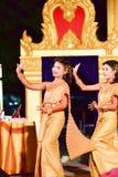 Ballo tailandese Fotografia Stock Libera da Diritti