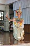 Ballo Tailandia della cultura di Khon Fotografia Stock Libera da Diritti