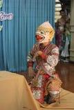 Ballo Tailandia della cultura di Khon Immagine Stock Libera da Diritti