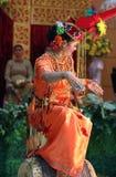 Ballo tradizionale fotografie stock