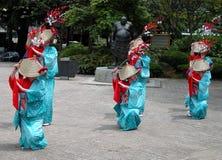 Ballo tradizionale Fotografia Stock