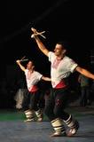 Ballo tradizionale - Bulgaria Fotografia Stock