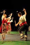 Ballo tradizionale - Bulgaria fotografie stock