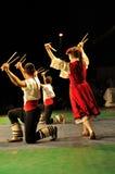 Ballo tradizionale - Bulgaria Immagini Stock Libere da Diritti
