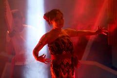 Ballo tradizionale della Tailandia Immagini Stock Libere da Diritti