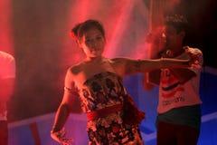 Ballo tradizionale della Tailandia Fotografie Stock Libere da Diritti