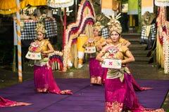 Ballo tradizionale di balinese Immagini Stock
