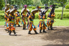 Ballo tradizionale di Borobudur Immagine Stock Libera da Diritti