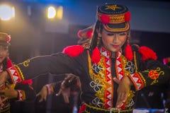 Ballo tradizionale di Giava fotografia stock