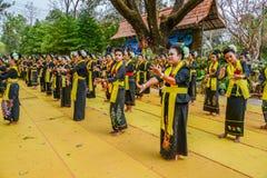 Ballo tradizionale di nordest tailandese Fotografia Stock Libera da Diritti