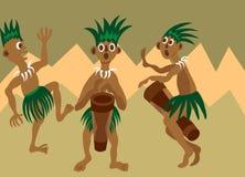 Ballo tribale 2 royalty illustrazione gratis