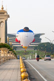 Ballon à air chaud à Putrajaya, Malaisie Photo stock