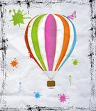 Ballon à air chaud Photos stock