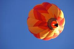 Ballon à air chaud au-dessus de l'Iowa Photos libres de droits
