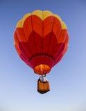 Ballon à air chaud au-dessus de la Californie Images stock