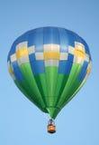 Ballon à air chaud avec des marguerites Images stock