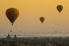Ballon à air chaud de Birmania 2 Images libres de droits