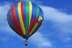 Ballon à air chaud de dessin géométrique Images stock