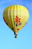 Ballon à air chaud floral Image libre de droits