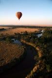 Ballon à air chaud (Kenya) Photographie stock libre de droits