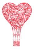 Ballon à air chaud romantique Photographie stock libre de droits