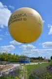 Ballon à air chez TerraBotanica images libres de droits
