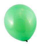 Ballon à air entièrement gonflé d'isolement image stock