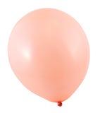Ballon à air entièrement gonflé d'isolement Images libres de droits