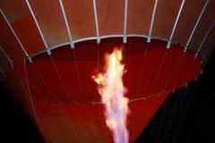 ballon αέρα καυτό φως πυρκαγιά&sigm Στοκ Εικόνες