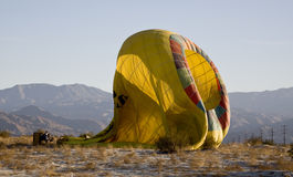 Ballon ζεστού αέρα Στοκ Φωτογραφίες