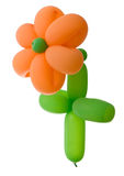 ballon λουλούδι Στοκ Εικόνες