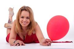 ballon να βρεθεί εκμετάλλευ&sig Στοκ Εικόνα