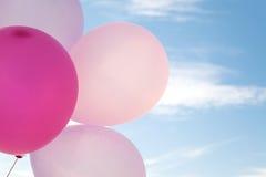 Ballon στον ουρανό, κόμμα, αγάπη Στοκ Εικόνες