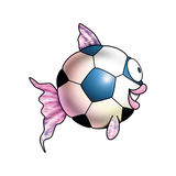 ballon ψάρια Στοκ φωτογραφία με δικαίωμα ελεύθερης χρήσης