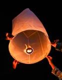 Ballon на провинции сынка Mae Hong Таиланда стоковое фото