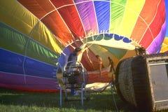 Ballon 1 van de hete Lucht Royalty-vrije Stock Foto's