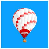 Ballon 2 d'air chaud Photographie stock libre de droits