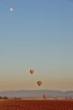 Ballon aan Maan Stock Afbeeldingen