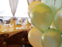 Ballon auf Party Stockbild