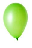 Ballon auf Weiß Lizenzfreie Stockfotografie