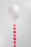Ballon avec le ruban Image stock