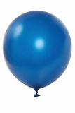 Ballon bleu Photos libres de droits