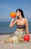 Ballon blow Royalty Free Stock Photography