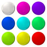 Ballon Color fun vector  balloon web icon Royalty Free Stock Photo