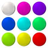 Ballon Color fun vector  balloon web icon. Ballon Color fun vector  balloon web circle Royalty Free Stock Photo