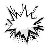 Ballon comique d'étoile de la parole de calibre vide Image libre de droits