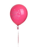ballon czerwień urodzinowa szczęśliwa Obraz Royalty Free