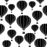 Ballon d'aérostat Configuration sans joint de vecteur Photo libre de droits